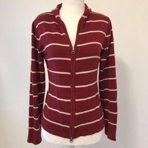 Christopher & Banks Zip-up Sweater Cardigan
